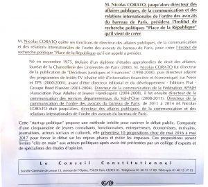 Extrait : Le Conseil Constitutionnel